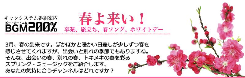 BGMセレクション 2019年3月のおすすめチャンネル